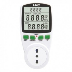 Misuratore di potenza e consumi Power Easy con display Lcd MELCHIONI