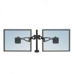 Braccio porta monitor doppio FELLOWES. Braccia meccaniche aggiustabili in